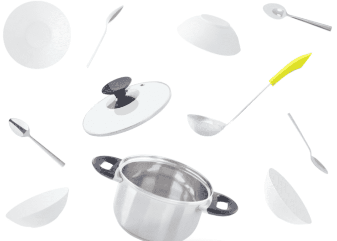 Como descartar panelas e talheres?