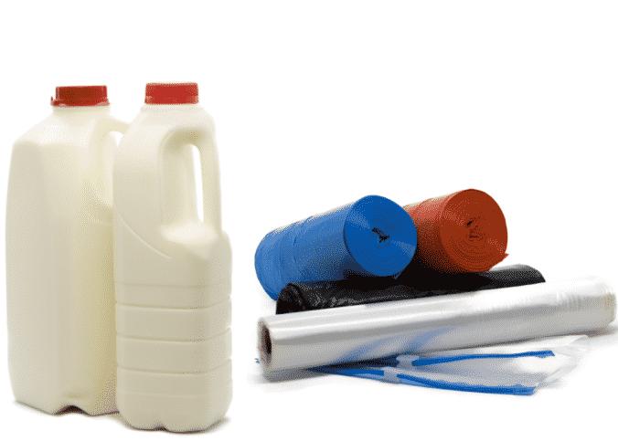 Reciclagem de polietileno - PEAD e PEBD/PELBD